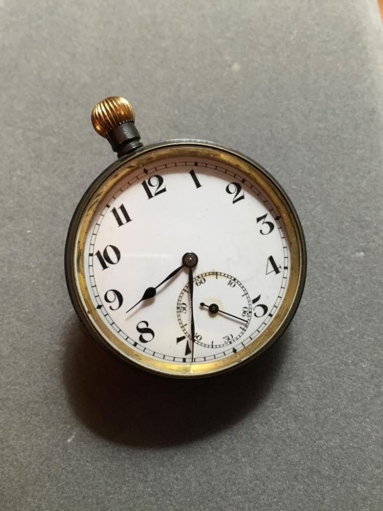 1930's Tacy Swiss Pocket Watch, Parts Repair