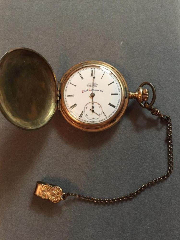 1890 Elgin 13 Jewels Pocket Watch