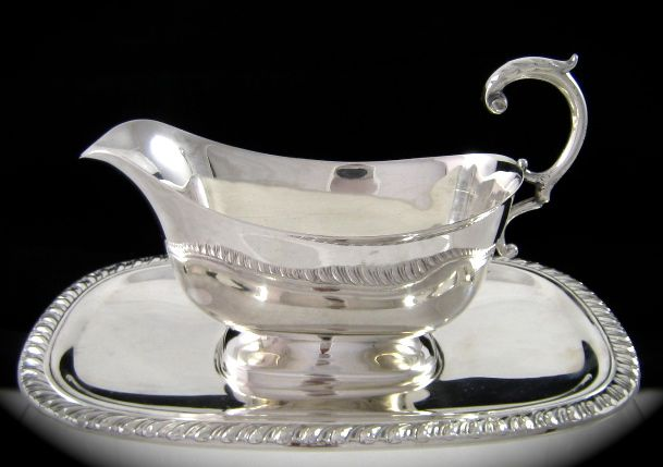 c1930's Canadian Silver-plate Sauce Boat