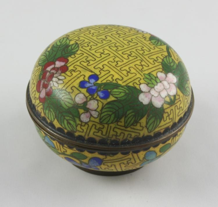 c1900 Japanese Kogo Ceremonial Box