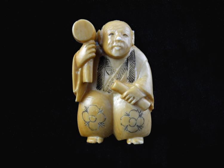 Japanese Hand-carved Ivory Netsuke