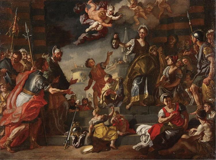 18thc Italian Painting, Francesco Solimena