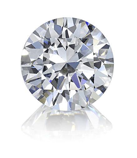 5ct Round Brilliant Cut BIANCO Diamond