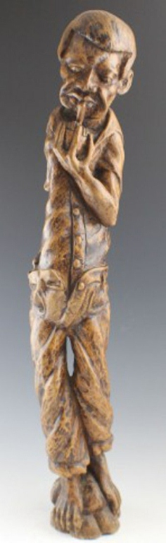 American Folk Art Carved Tree Root Figure
