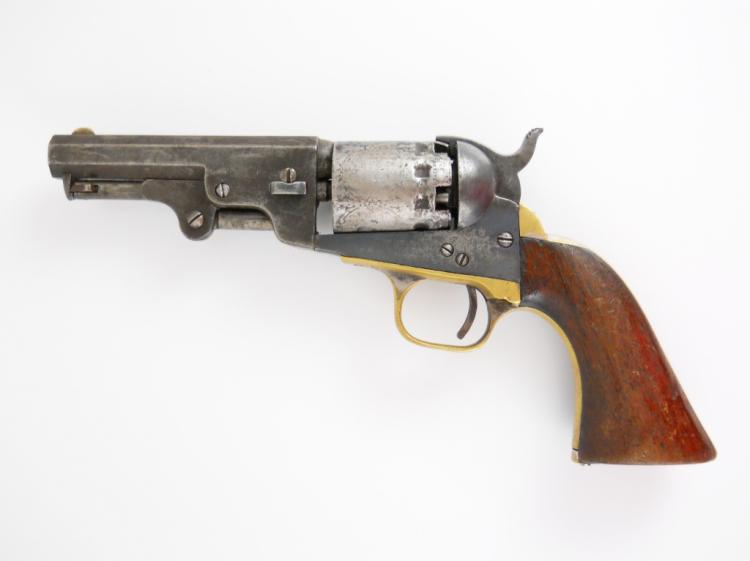 1850 Manhattan Pocket Model Five Shot Revolver