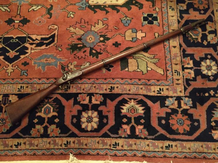 Early 1861 Three Banded Civil War Musket