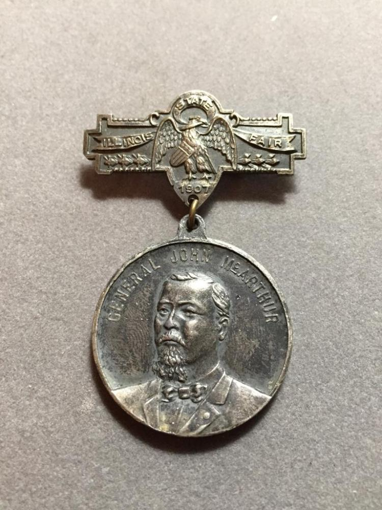 1907 Civil War Illinois Commemorative Medal