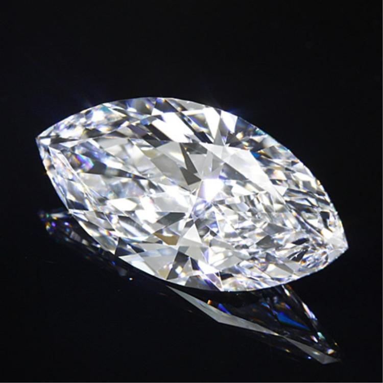 4ct Marquise Cut BIANCO Diamond