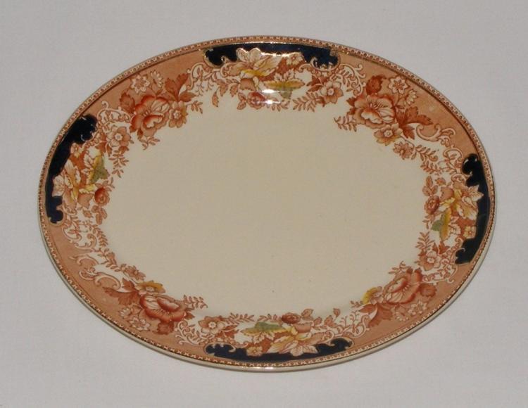 20thc Thomas Hughes English Staffordshire Platter