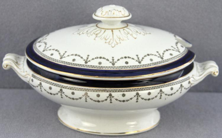 Continental Empire-Style Covered Tureen