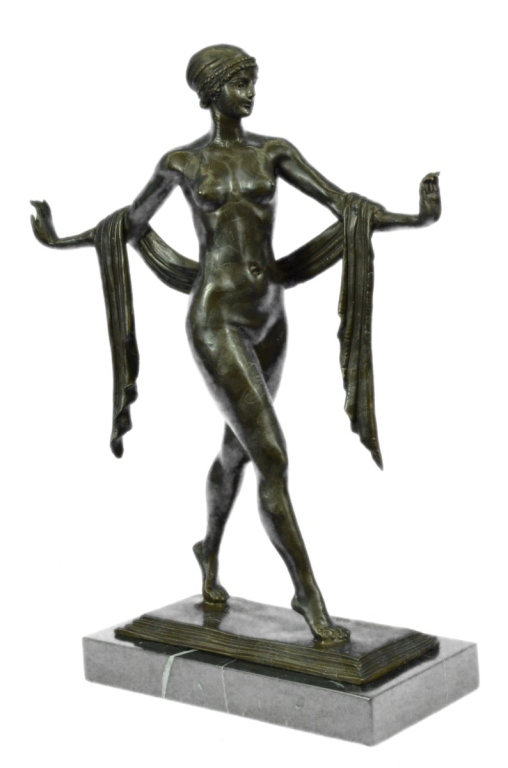 After Jennewein, Greek Dancer Bronze Sculpture