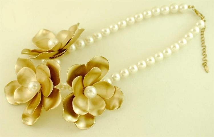 French CHANEL Style Necklace