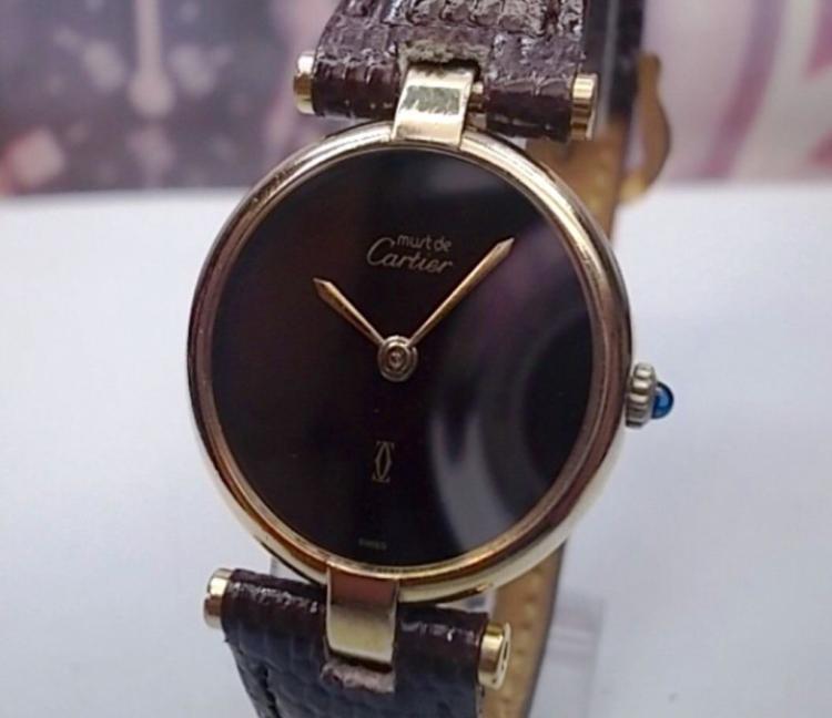 Classic Must de Cartier Paris, Quartz Ladies Watch