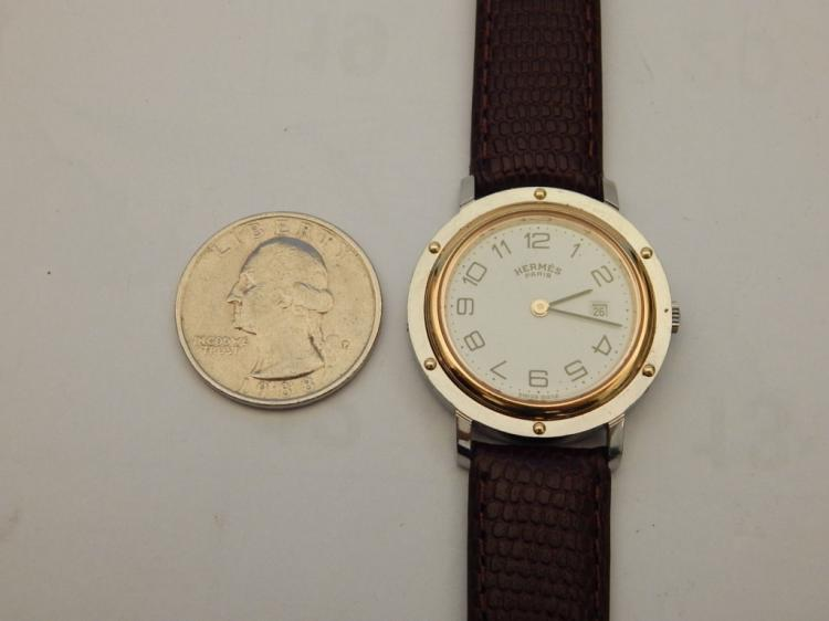 Hermes Paris Clipper Wristwatch