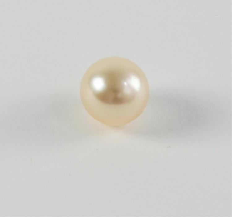 A-Grade High Luster 9mm Half Drilled Round Pearl