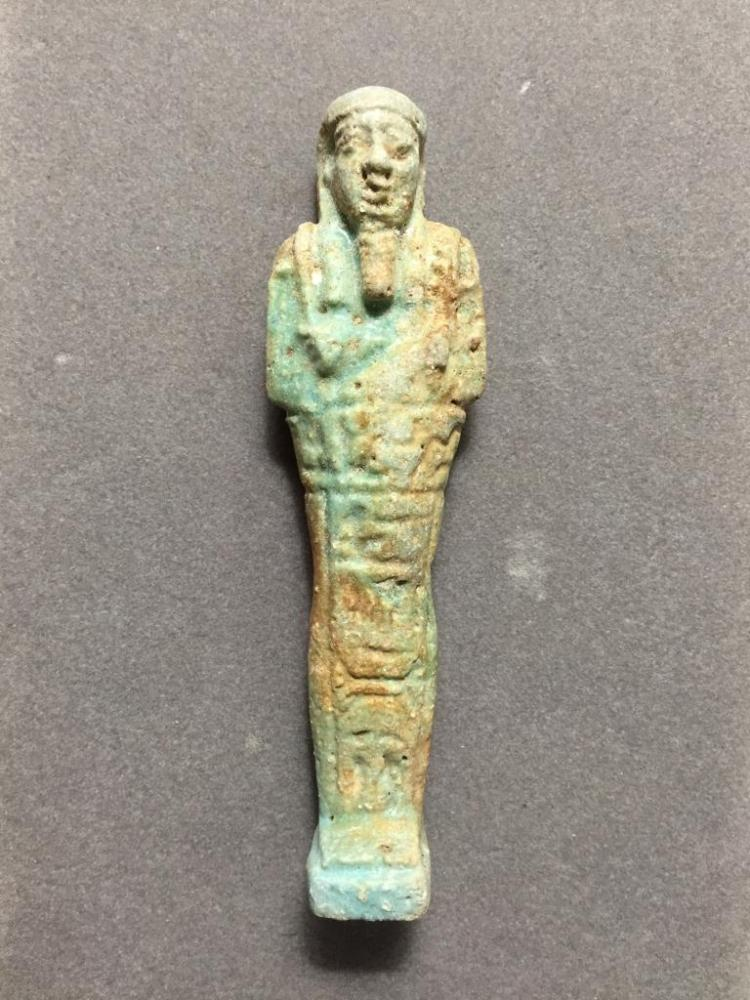 380 - 343 BC Egyptian Hieroglyphic Shabti