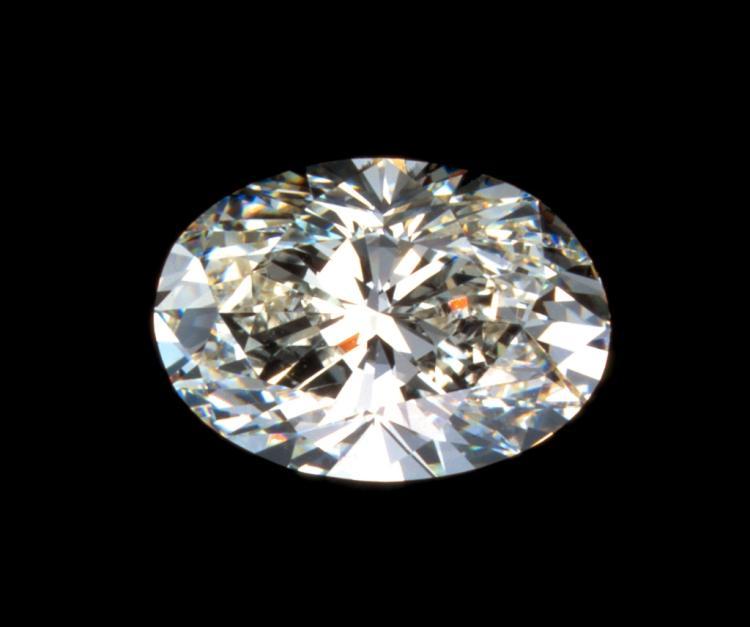 LARGE! 9ct Oval Cut BIANCO Diamond