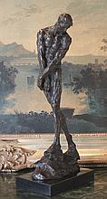 Nude Male Bronze Sculpture