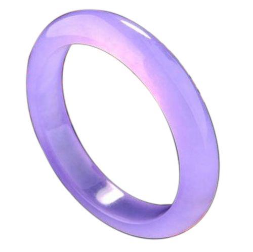 Furniture Bluffton Sc Lot 20: Royal Purple Nephrite Jade Bangle Bracelet