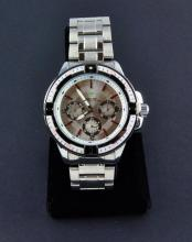 Men's Stainless Steel Sports Wristwatch