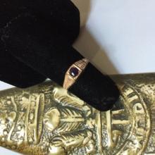 Victorian Copper & Amethyst Ring