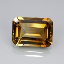 2.25ct Champagne Emerald Cut BIANCO Diamond