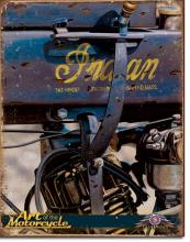 Indian Motorcycles Metal Advertising Sign