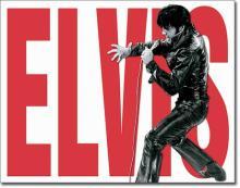 Elvis, 1960's Metal Sign