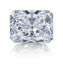 1ct Radiant Cut BIANCO Diamond