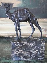 Excellent Camel Bronze Sculpture