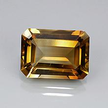 Bianco 2.25 Carat Champagne Emerald Cut Diamond