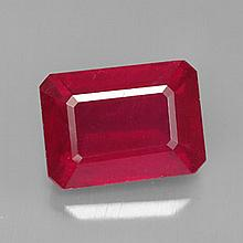 6.95ct Madagascar Red Ruby~ size 11.6 x 8.45 x 5.9