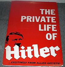 HITLER/NAZIS original movie pressbook