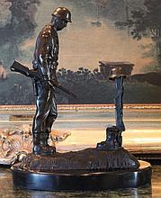 Fallen Soldier Bronze Sculpture