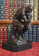 The Thinker Bronze Sculpture