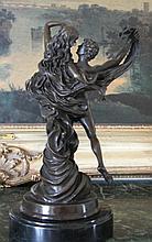 Beautiful Bronze Sculpture Lovers