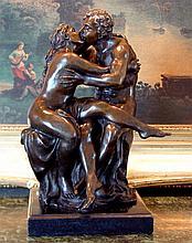 Lovers Bronze Sculpture