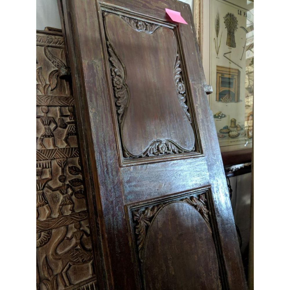 Ornate Gothic Style Carved Panel