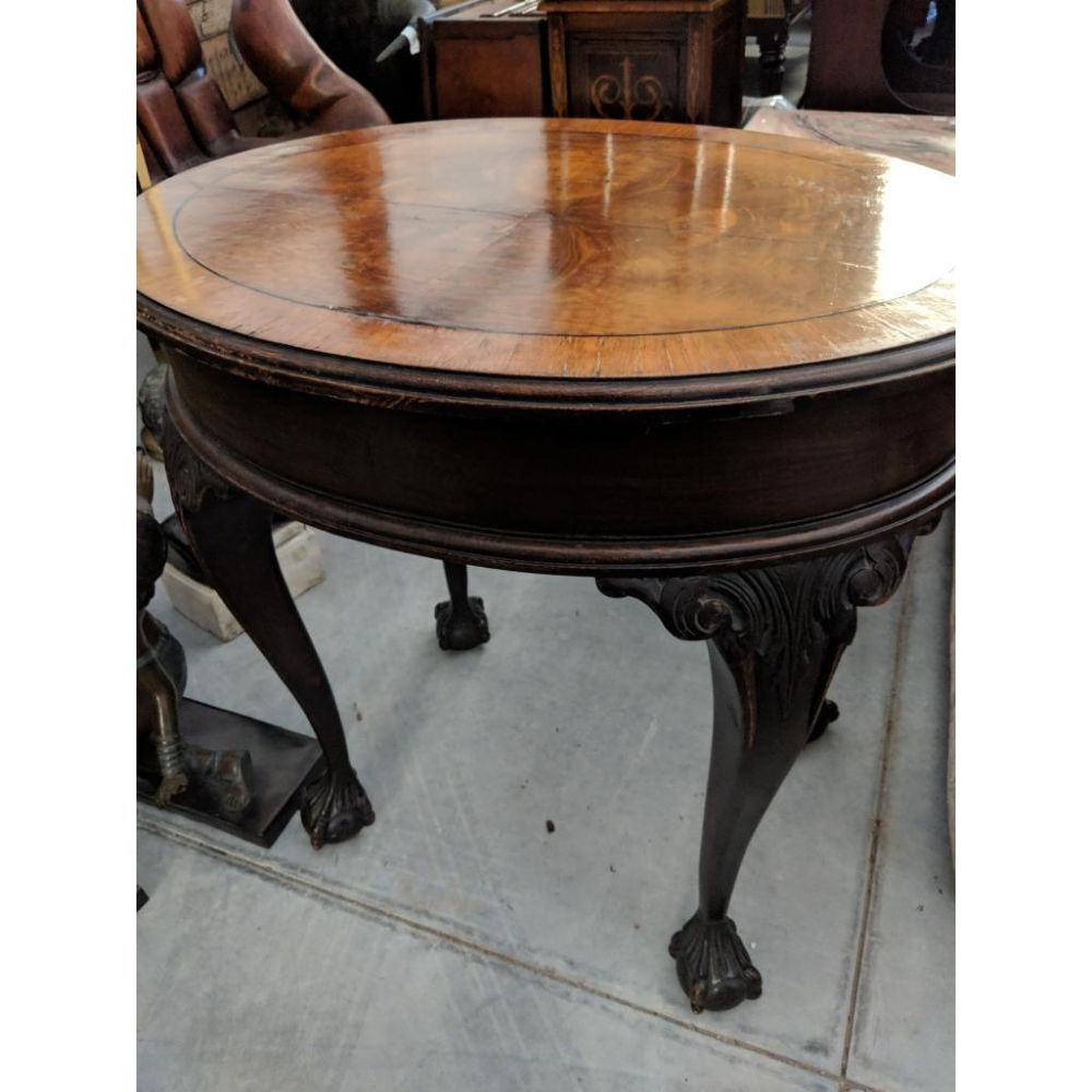 Ball and Claw Banded Table