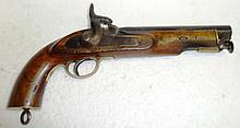19th Century East India Co Percussion Cap Pistol