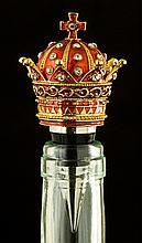 Swarovski Crystal Queen's Crown Bottle Stopper