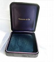 VINTAGE TIFFANY & CO SUEDE BOX FOR BRACELET