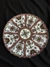 Persian Porcelain Charger Plate