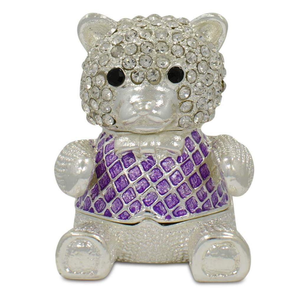 Pewter Bear Figurine 2 Inches Tall
