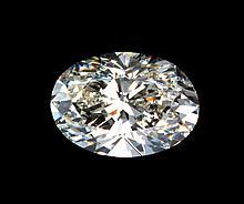 3 Ct. Oval cut BIANCO diamond