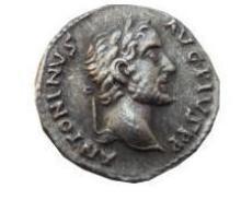 REPRO Ancient Rome Coin - Phantasy Denarius a. PIUS - Free Worldwide Shipping
