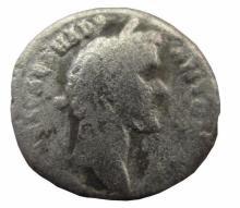 Silver Roma coin