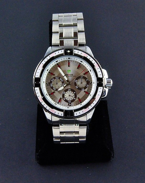 Men's Stainless Steel Steel Wrist Watch