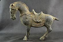 Chinese Copper Horse Statue.