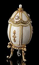 Faberge Inspired Pearl Egg